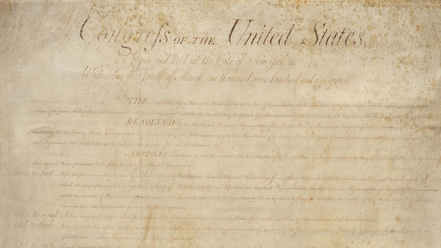 Newsela Primary Sources The Bill Of Rights