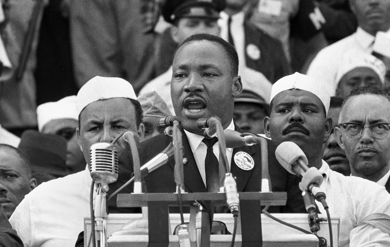 Martin Luther King: the speech - interactive   US news ...