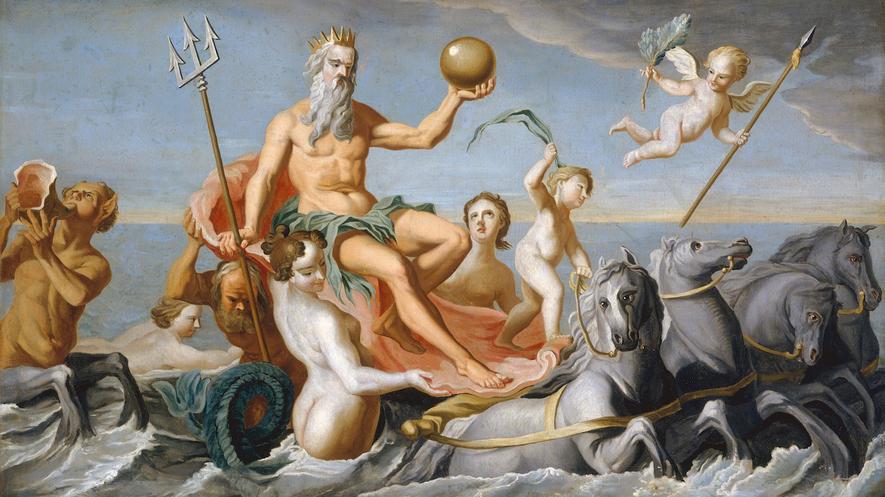 Newsela Myths And Legends Poseidon The Greek God Of The Sea