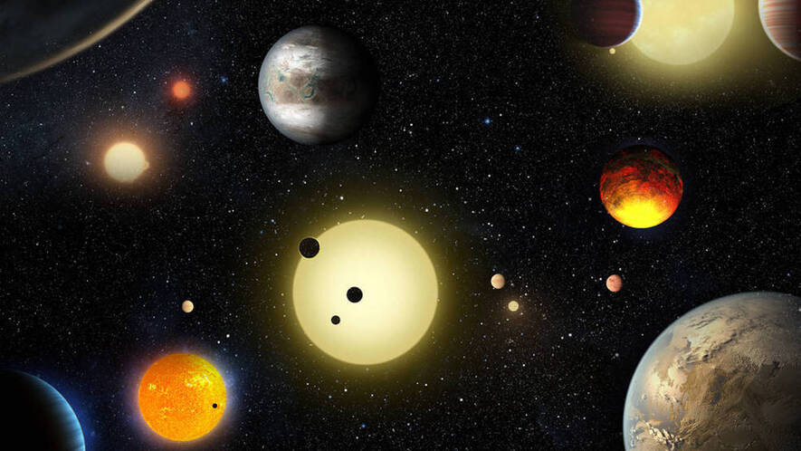 Newsela what is a planet top this artists concept depicts select planetary discoveries made to date by nasas kepler space ccuart Image collections