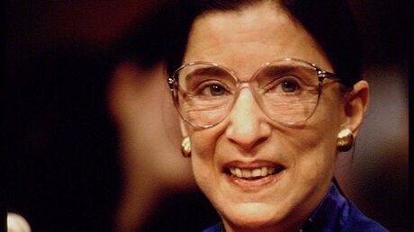 Supreme Court Justices Ruth Bader Ginsburg