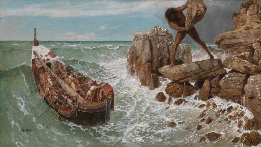 the inner pride of odysseus in odyssey Some of the best and most famous parts of the odyssey are in books nine   these famous episodes are in odysseus recounting his own stories.