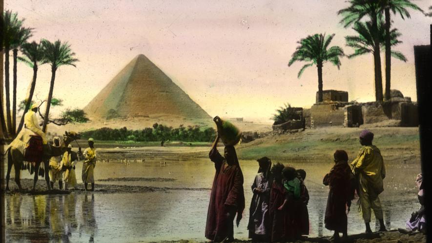 Newsela Cómo El Río Nilo Condujo A La Civilización En El Antiguo Egipto