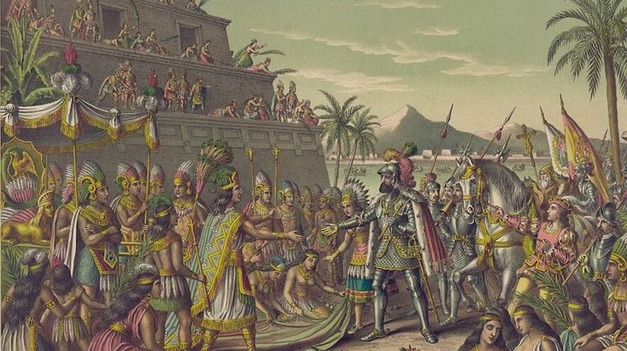 newsela clash of cultures cortes conquers moctezuma and the aztecs