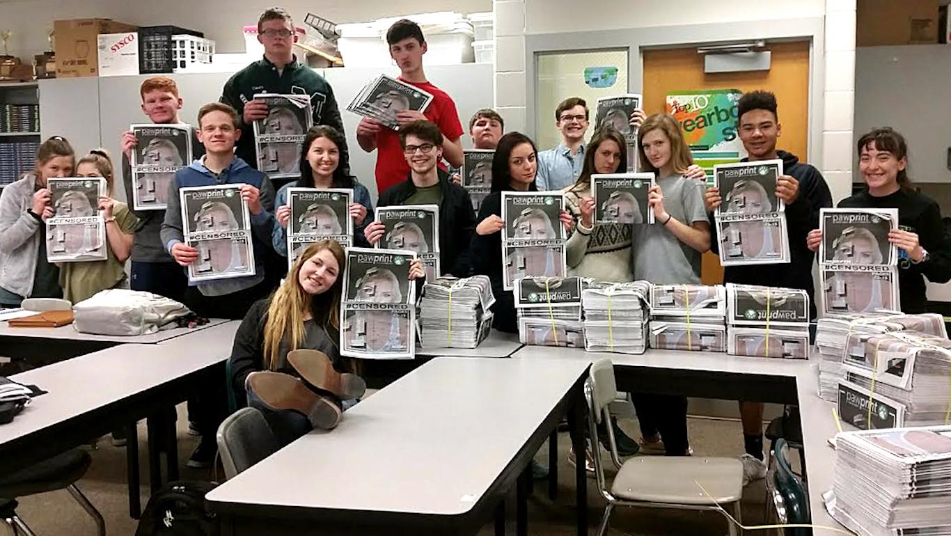 student press restrictions
