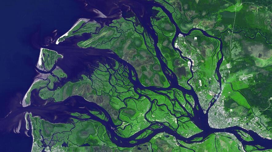 Newsela What Are River Deltas And Why Are They Important - Examples of rivers in the world