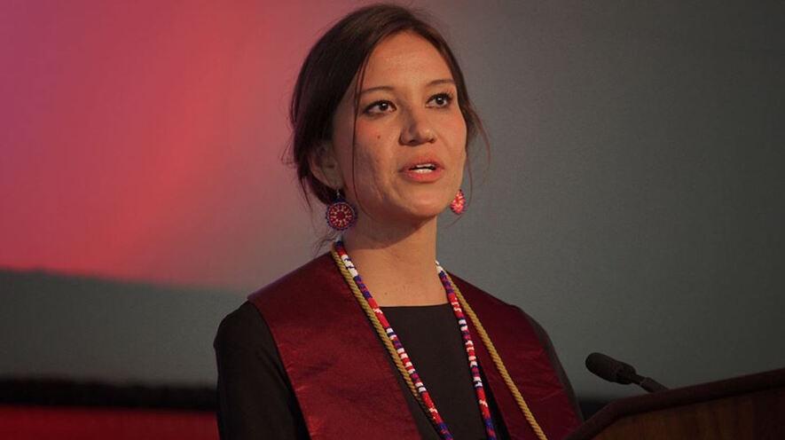 Newsela - Famous Speeches: Megan Red Shirt-Shaw's Harvard
