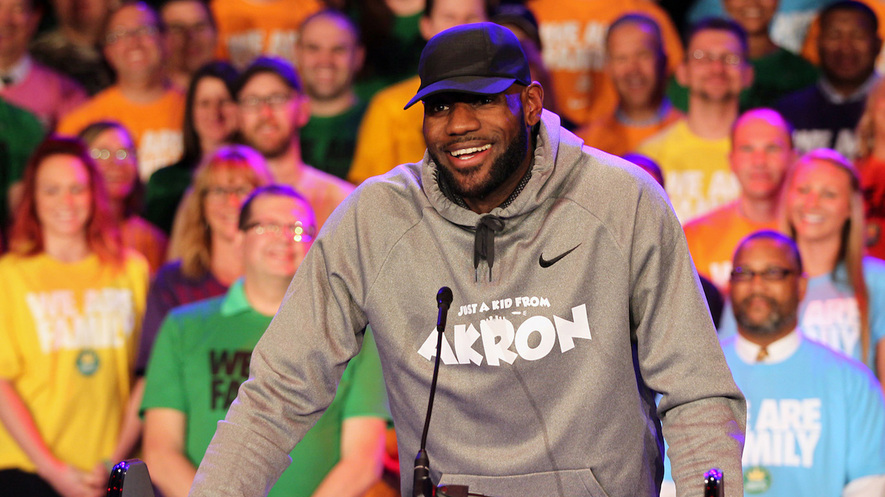 7d6354371c0a Documentary series in the works on LeBron James  new school in Ohio