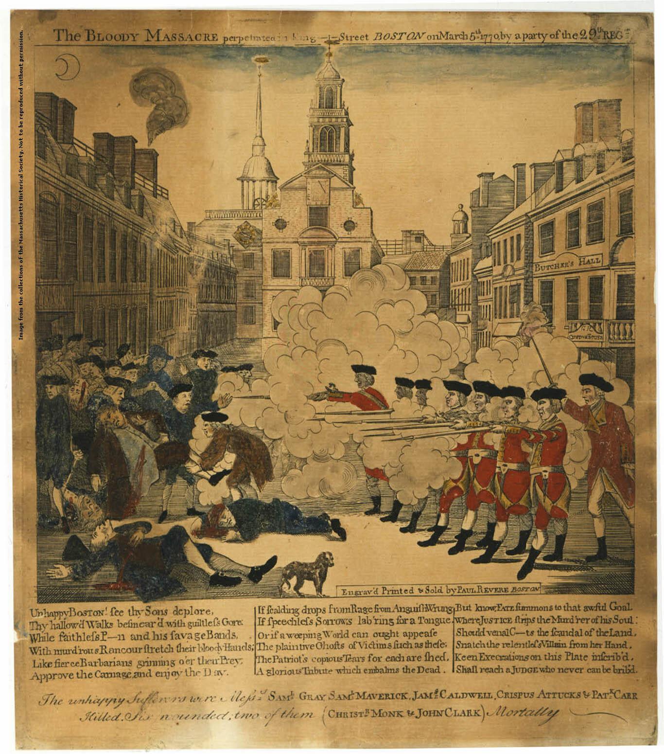 florsheim shoes boston massacre engraving analysis