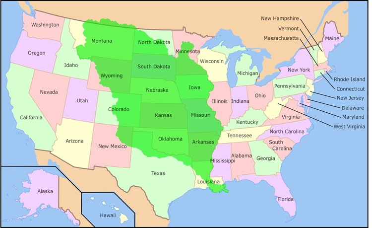 Newsela An Overview Of Us Westward Expansion - Map-of-us-during-westward-expansion